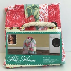 The Pioneer Woman Drawstring Laundry Bag New